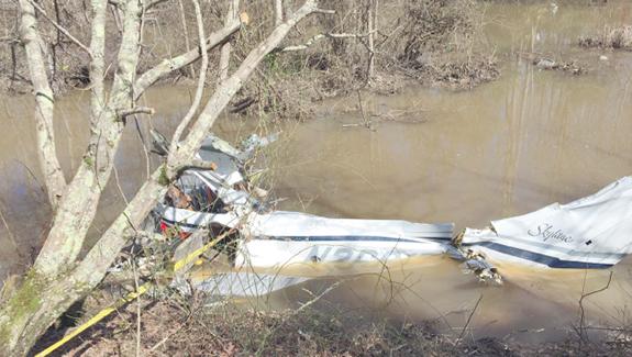 Three killed as light plane crashes on takeoff