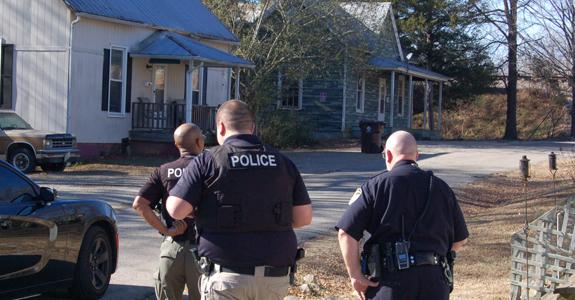 Franklinton police target drug market
