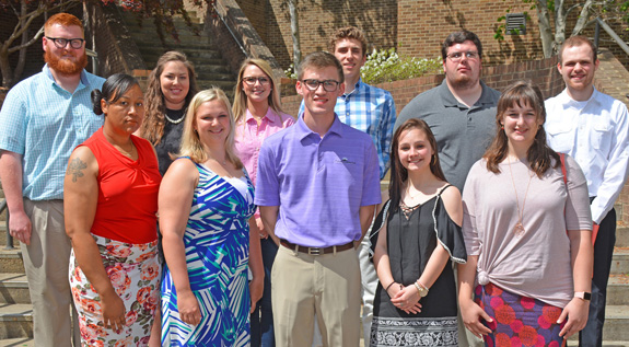 <i>VGCC students inducted into honor society</i>