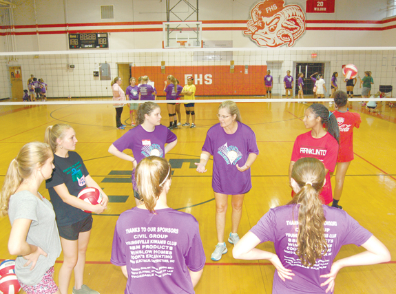 <i>Franklinton adds girls' volleyball to rec program</i>
