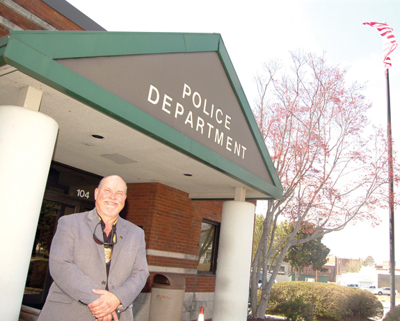 <i>It's time to retire, says Louisburg police chief</i>