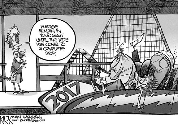 Editorial Cartoon: Ride