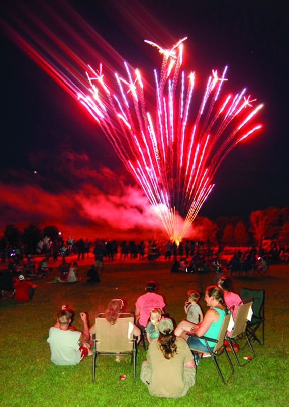 Franklin County celebrates the 4th