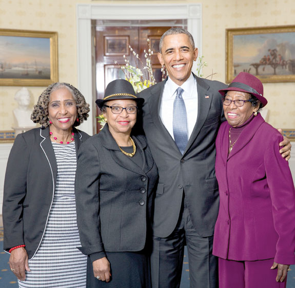 <i>Local woman invited to White House</i>