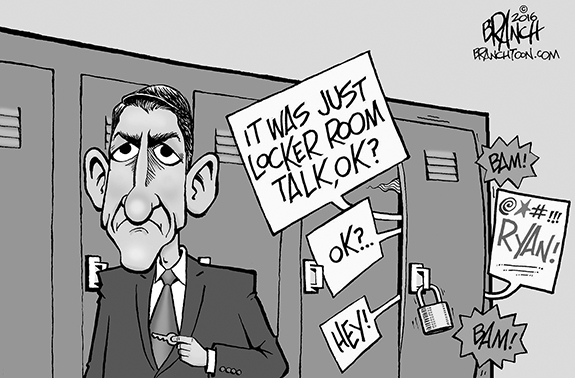 Editorial Cartoon: Ryan