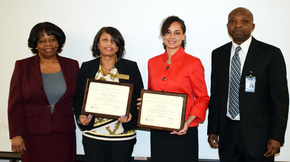 SCHOOL OFFICIALS HONORED