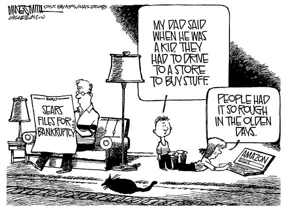 Editorial Cartoon: Sears