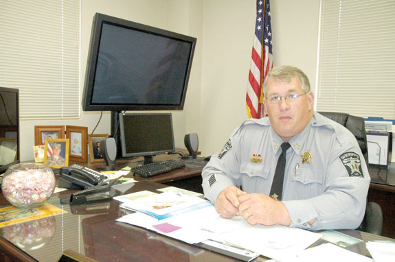 <i>Sheriff reflects on first year successes, changes</i>