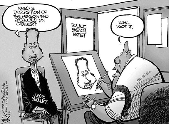 Editorial Cartoon: Sketch