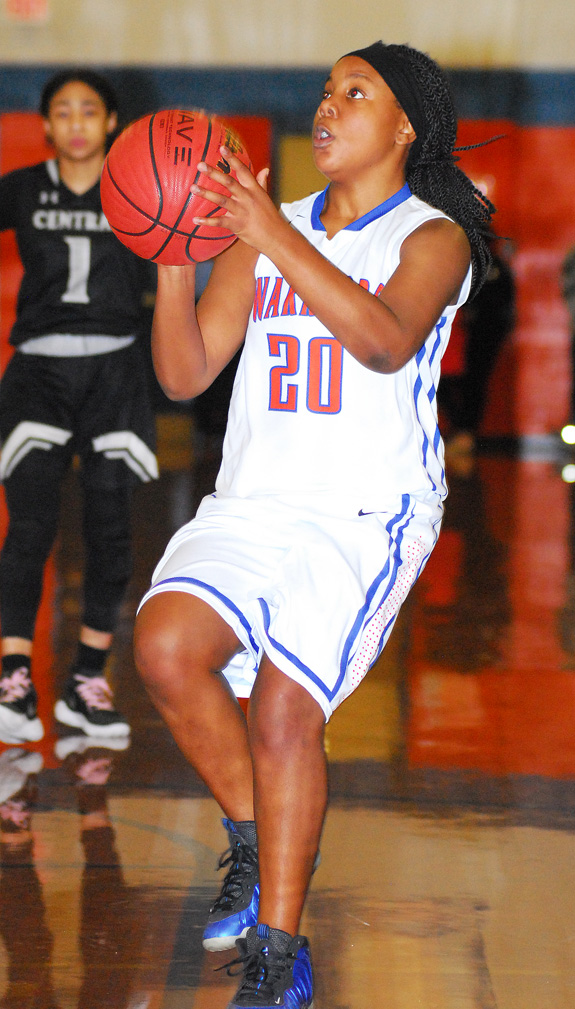 LHS girls topped by Panthers