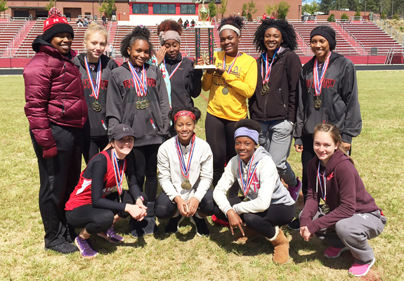 COUNTY TRACK CHAMPS, 1