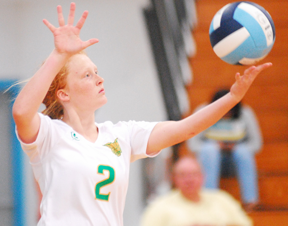Bunn Tops SV In Spike Opener