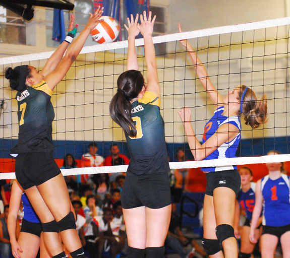 Louisburg Sweeps Ladycats