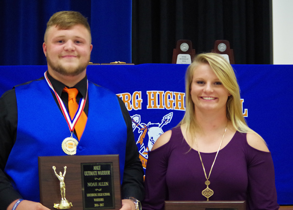 LOUISBURG HS AWARD WINNERS, 2
