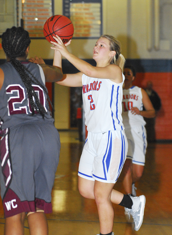 LHS girls edged in overtime