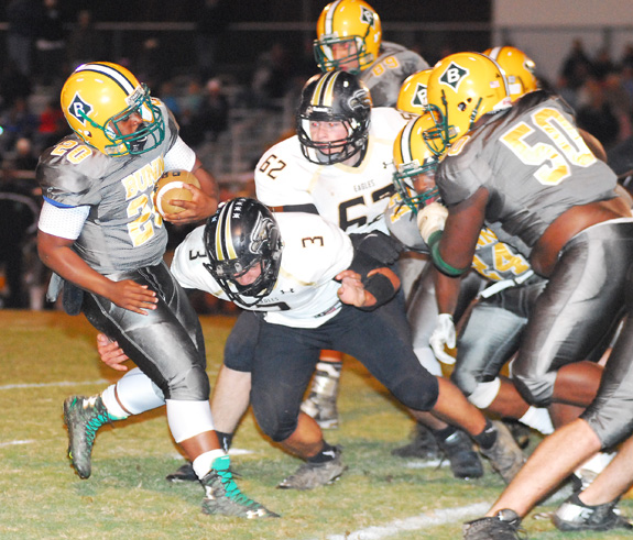 Bunn Advances Past Eagles