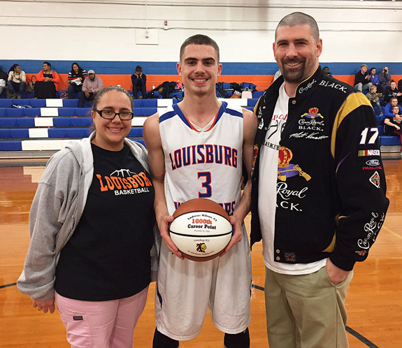 Wilson Honored By Louisburg