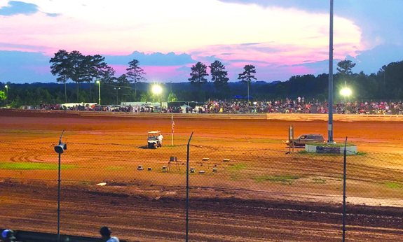A big night at the track