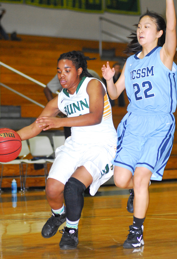 Bunn gets past Lady Rams