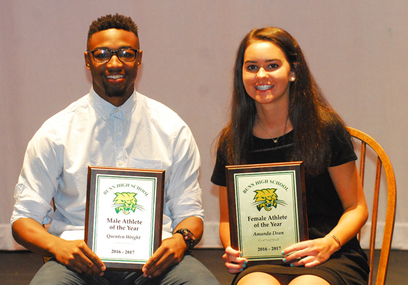 Bunn HS Salutes Top Athletes