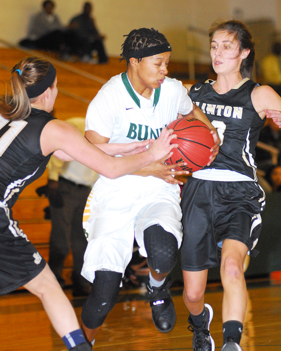 Bunn wins vs. Clinton
