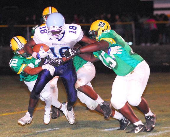 Bunn Blasts Southern Vance
