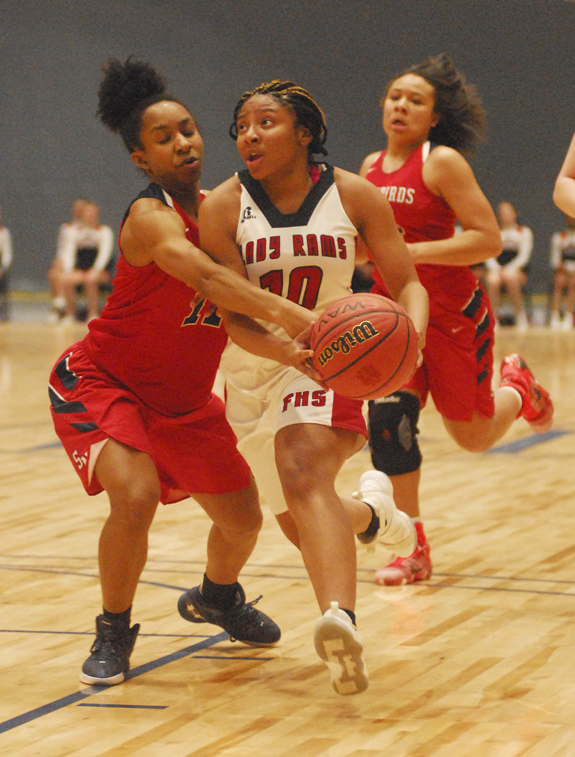 Lady Rams stop SNHS at tourney