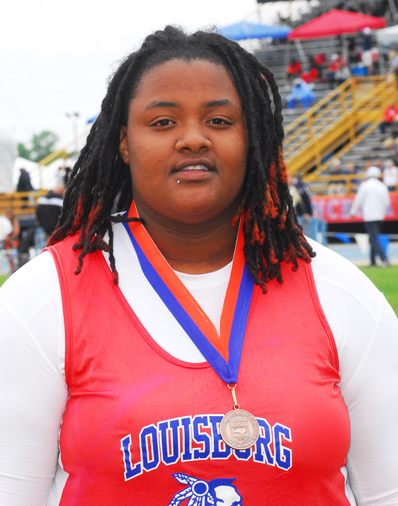 Williams medals at the states