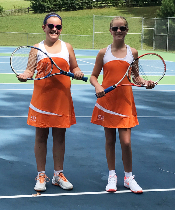 KERR-VANCE GIRLS TENNIS STANDOUTS