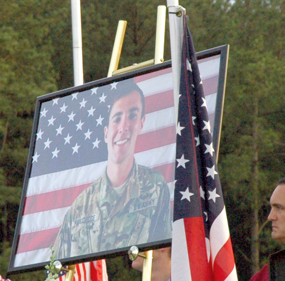 <i>A fallen soldier remembered</i>