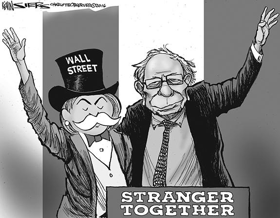 Editorial Cartoon: Stranger