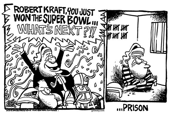 Editorial Cartoon: Super Bowl