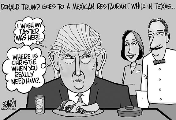 Editorial Cartoon: Taco Trump