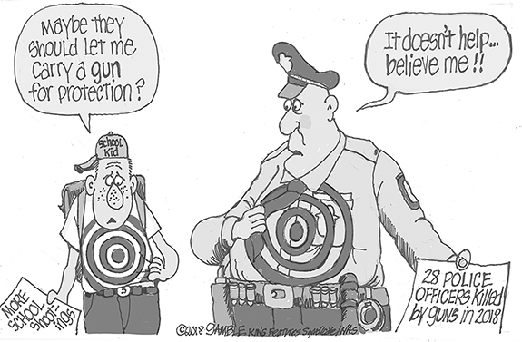 Editorial Cartoon: Target