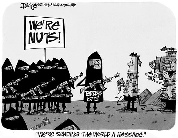 Editorial Cartoon: Terror