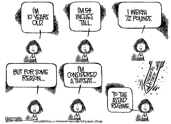 Editorial Cartoon: Threat
