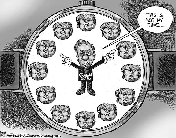 Editorial Cartoon: Time