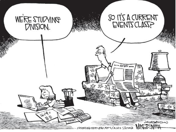 Editorial Cartoon: Division