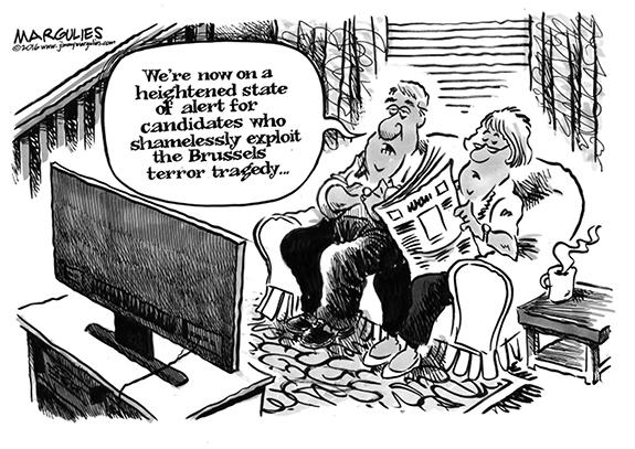 Editorial Cartoon: Tragedy