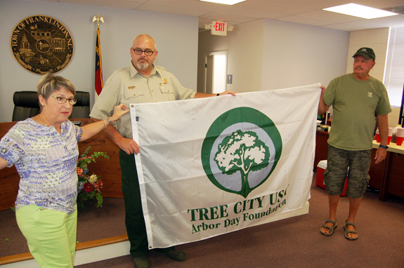 <i>Rare tree planted to recognize Franklinton's first responders</i>