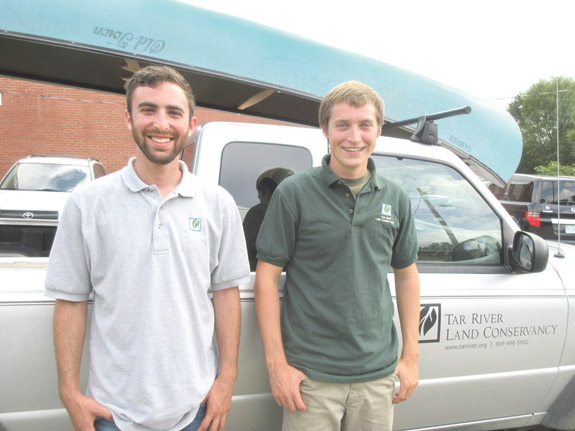 <i>Summer interns helping preserve natural locales</i>