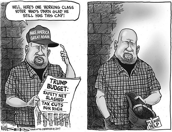 Editorial Cartoon: Trump Hat