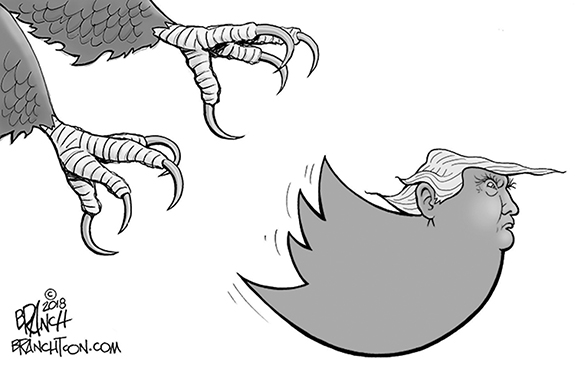 Editorial Cartoon: Tweet