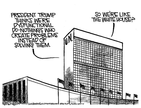 Editorial Cartoon: U.N.
