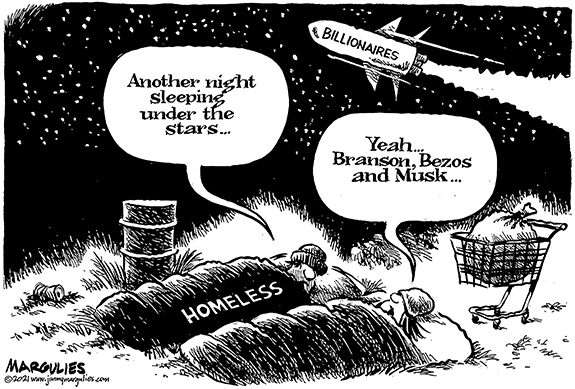 Editorial Cartoon: Under the Stars