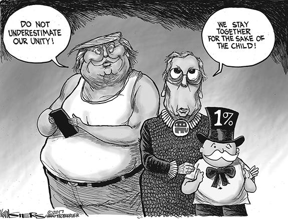 Editorial Cartoon: Unity