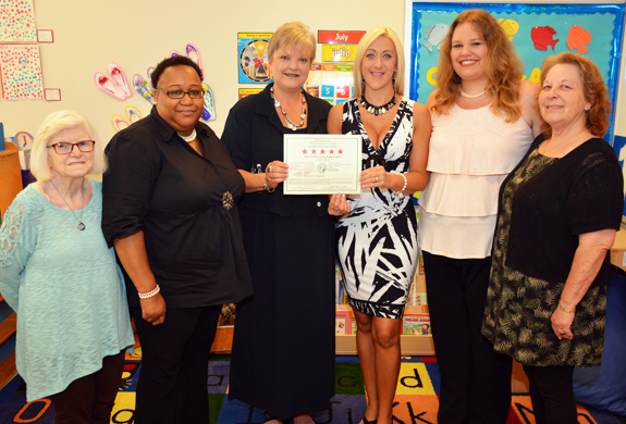 <i>Child care center at VGCC wins five stars ... again!</i>