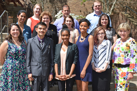 <i>55 VGCC students inducted into international honor society</i>