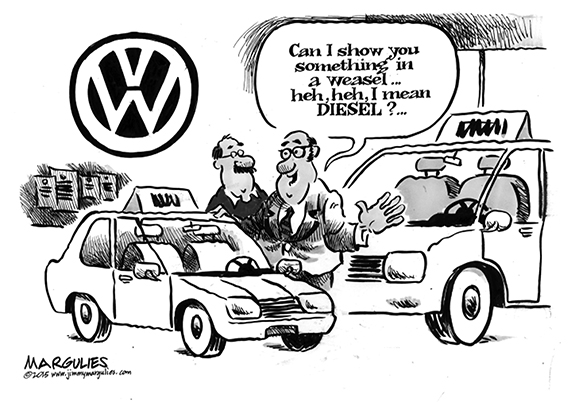 Editorial Cartoon: VW