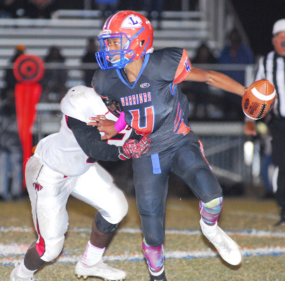 Louisburg Falls On Homecoming